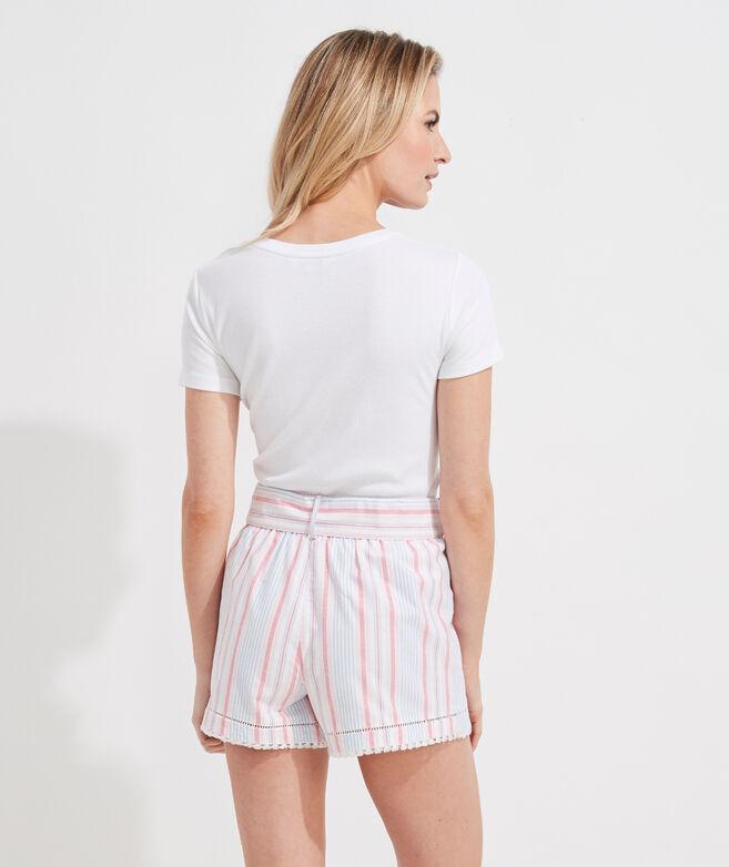 Abacos Stripe Bow Shorts