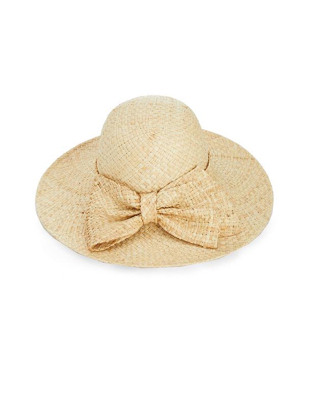 Kentucky Derby Straw Bow Hat