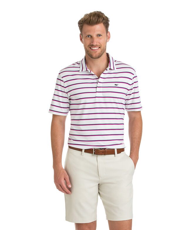 Eshman Stripe Sankaty Performance Polo
