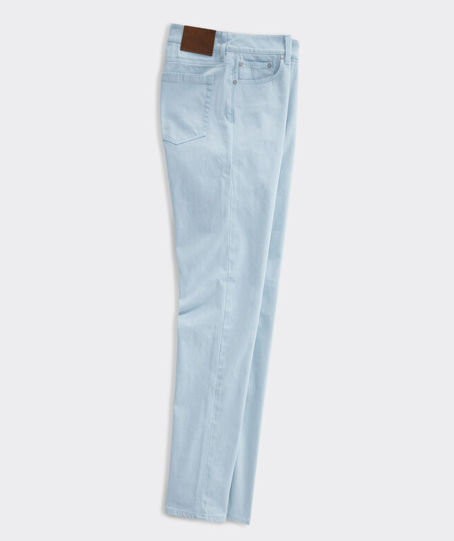 Island Twill 5-Pocket Pants