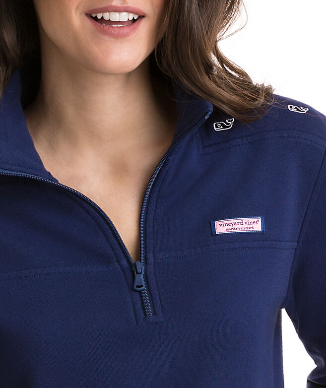 Relaxed Whale Embroidered Shep Shirt