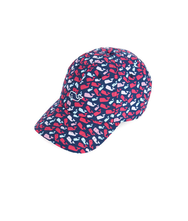 Scattered Whale Printed Baseball Hat