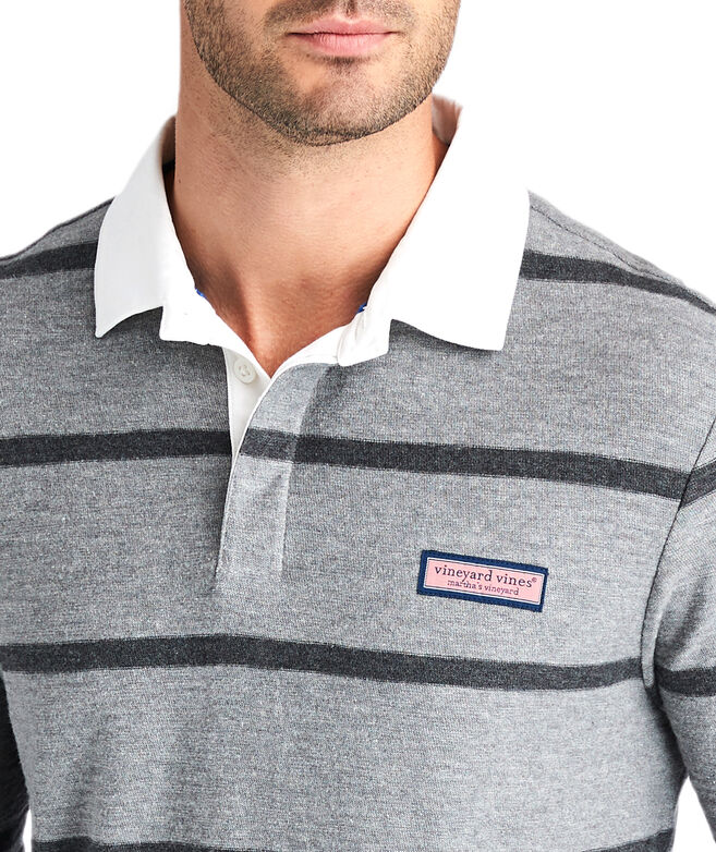 All Over Stripe Rugby Shirt