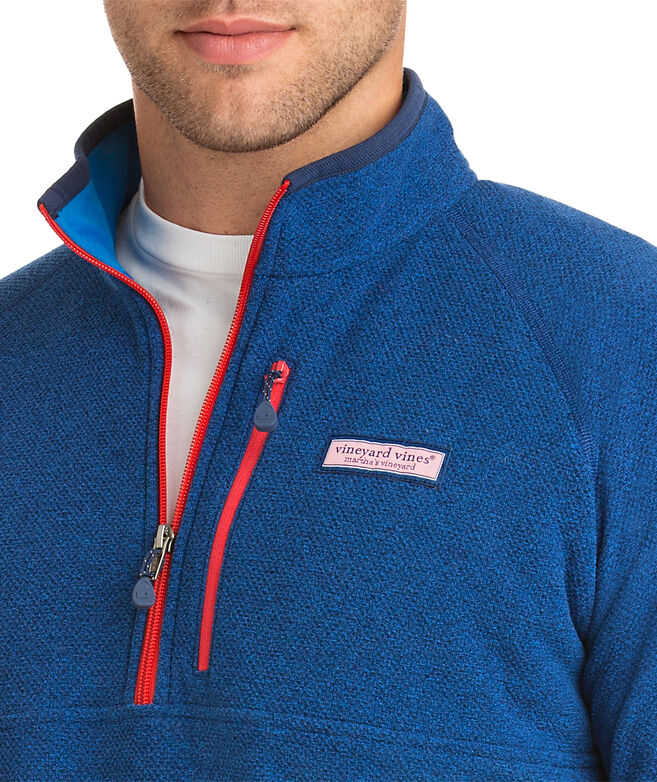 Textured Fleece 1/4-Zip