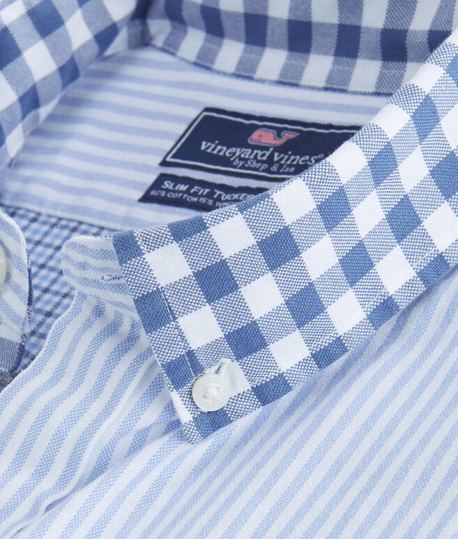 Cherrystone Party Slim Tucker Shirt