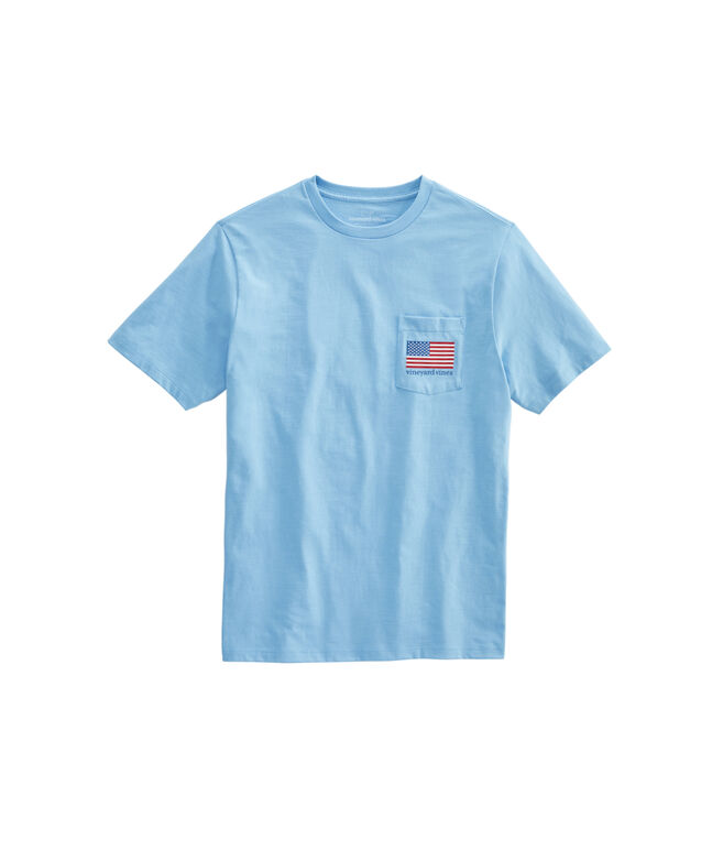 Big & Tall Party In The USA Short-Sleeve Pocket T-Shirt