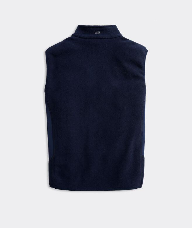 Men's Blank Tech Fleece Harbor Vest