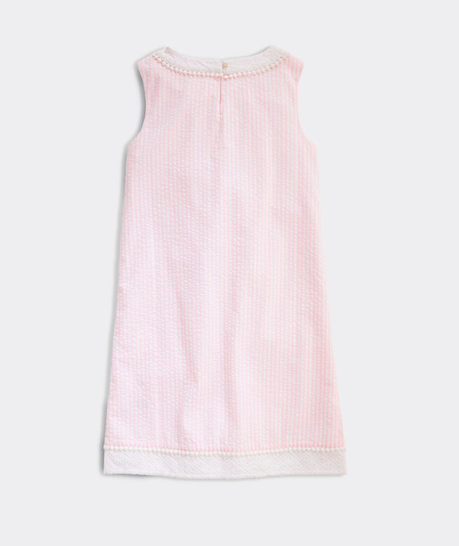 Girls' Seersucker Shift Dress