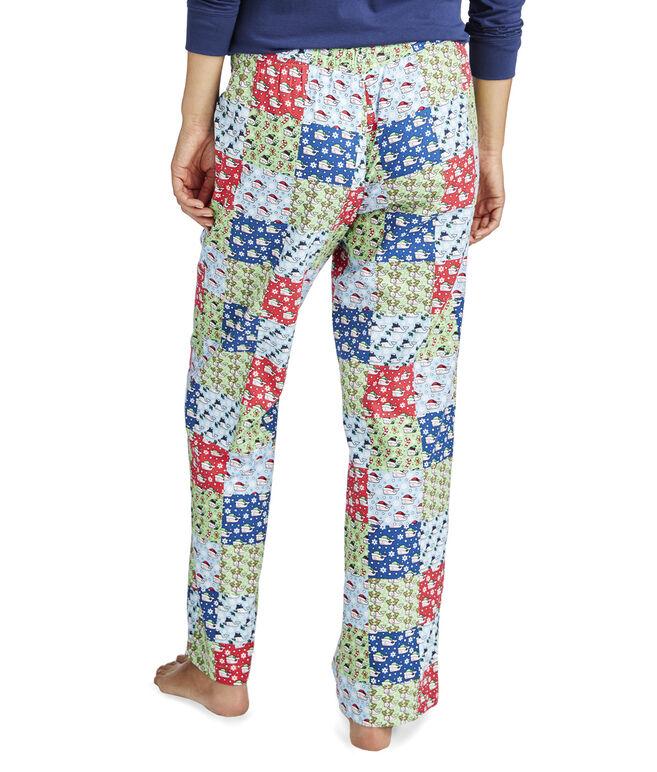 Patchwork Flannel Lounge Pants