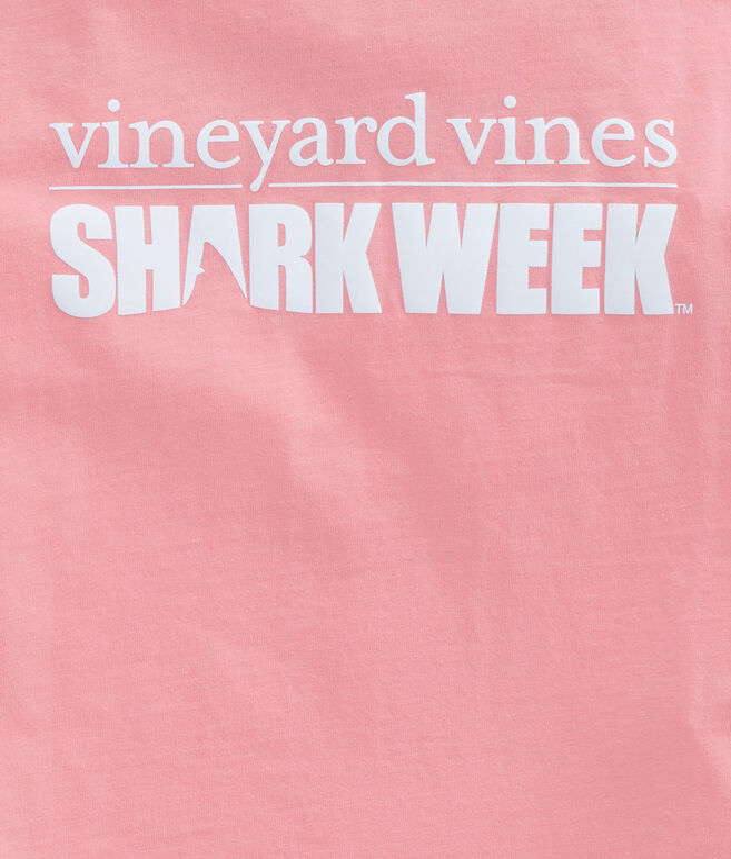 Womens Shark Week Logo Tee