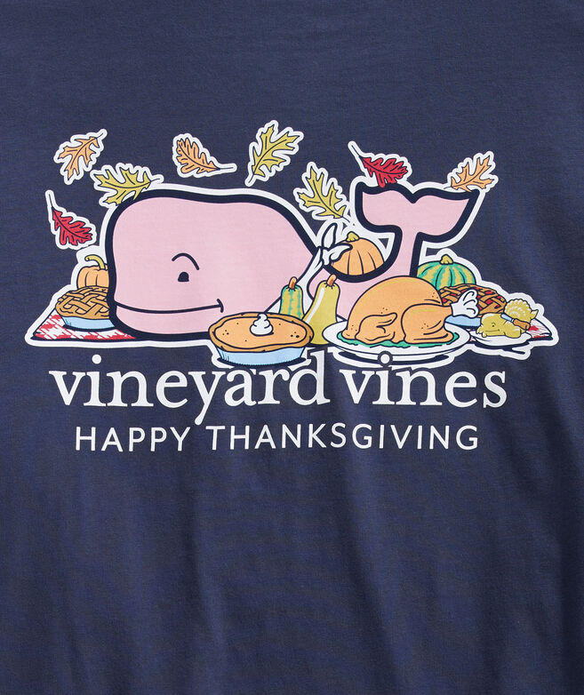 Adult 2020 Thanksgiving Whale Long-Sleeve Pocket Tee