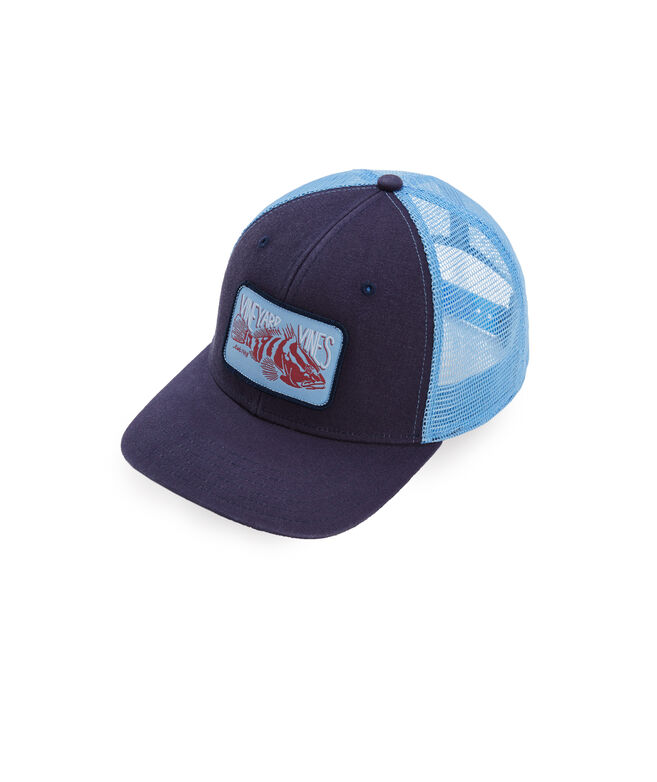 Grouper Patch Trucker Hat