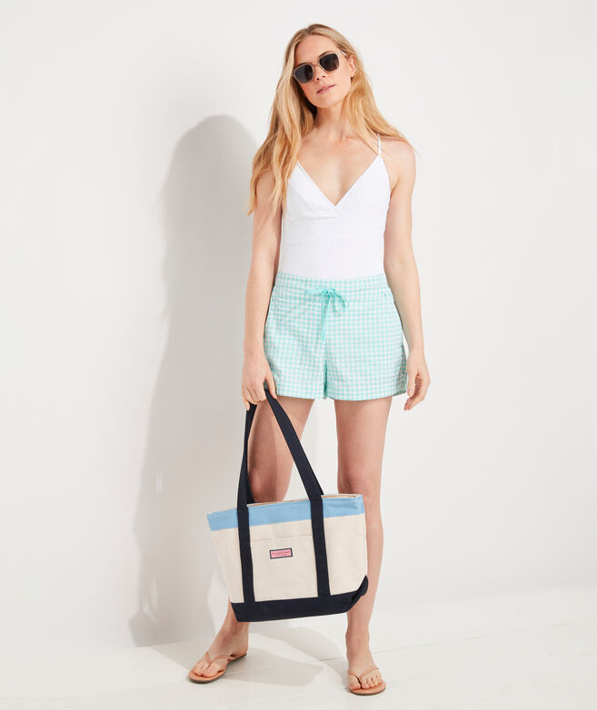 Gingham Harbor Shorts