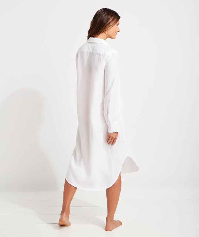 Breezy Linen Cover-Up