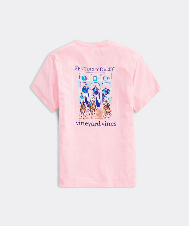 Kentucky Derby Out The Gates Short-Sleeve Pocket Tee