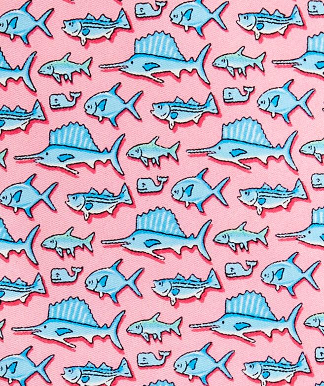 Boys New Total Fisherman Printed Tie