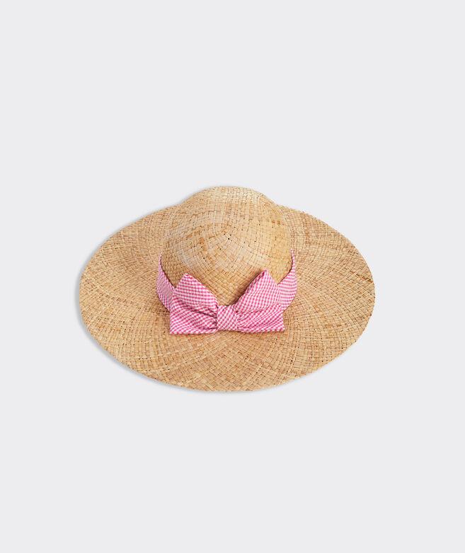 Floppy Bow Sun Hat