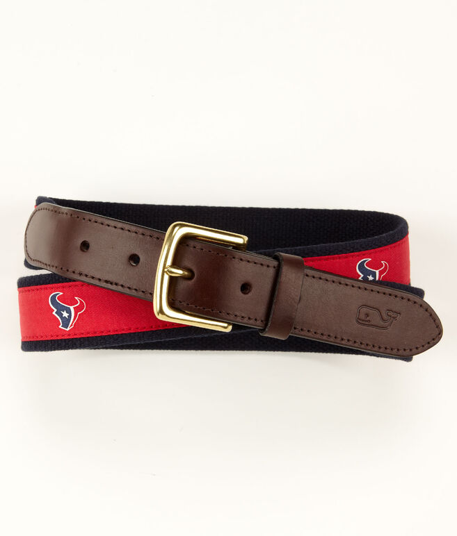 Houston Texans Canvas Club Belt