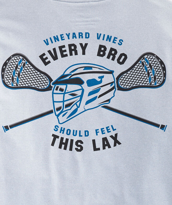 Boys' Every Bro Should Feel This LAX Long-Sleeve Performance Tee