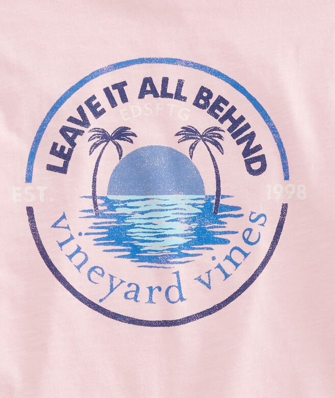 Slub Leave It All Behind T-Shirt