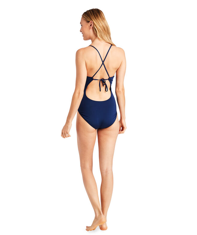 Solid Sconset One-Piece