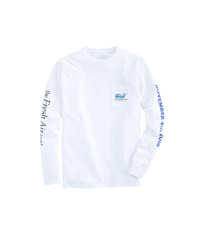 Mens Long-Sleeve 2018 Skyline NYC Marathon T-Shirt