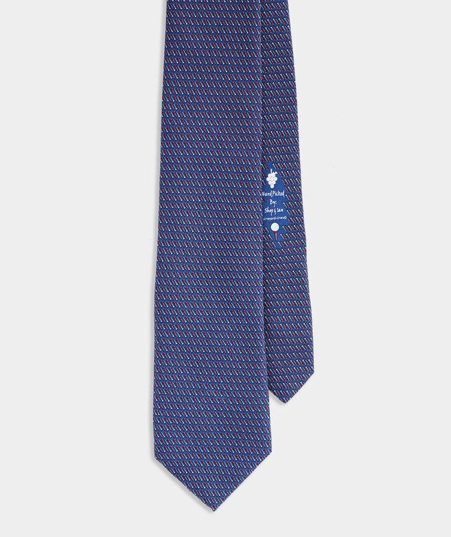 Golf Tees XL Printed Tie