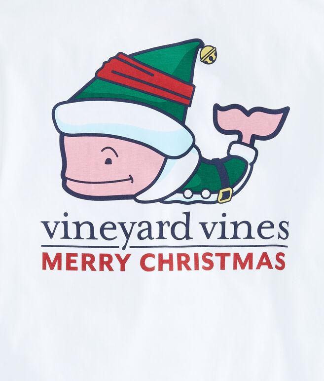 Boys Long-Sleeve Elf Whale Pocket T-Shirt
