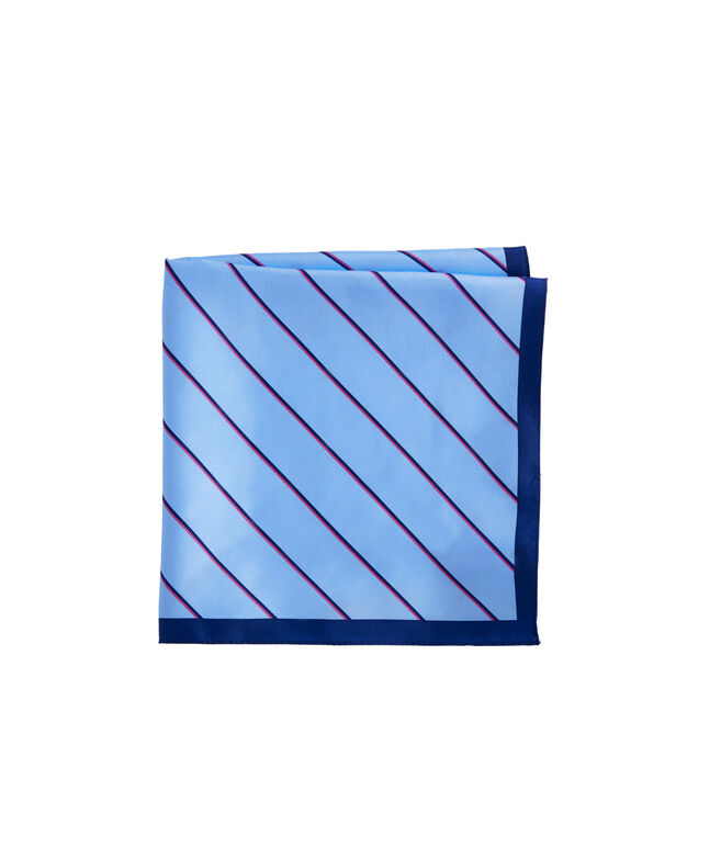 Island Stripe Pocket Square