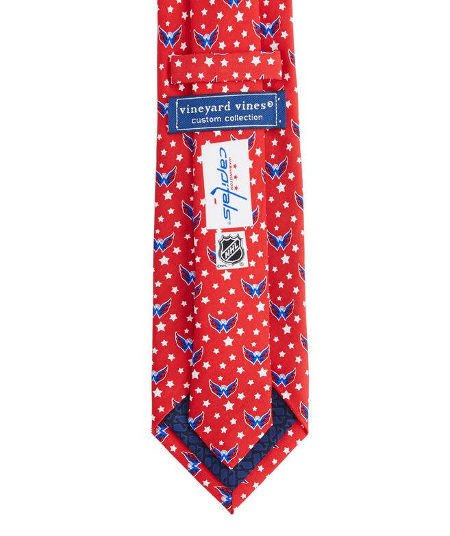 Washington Capitals Logo Tie