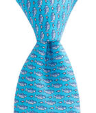 Boys Striped Bass & Lure Tie