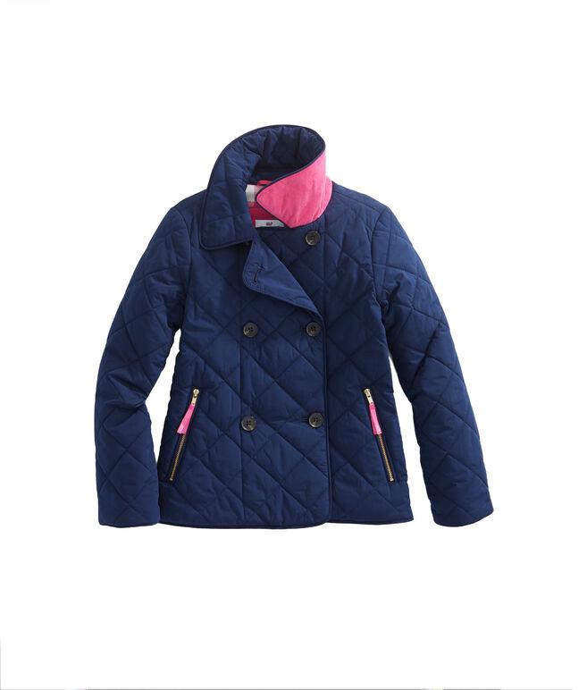 Shop Girls Quilted Coat at vineyard vines