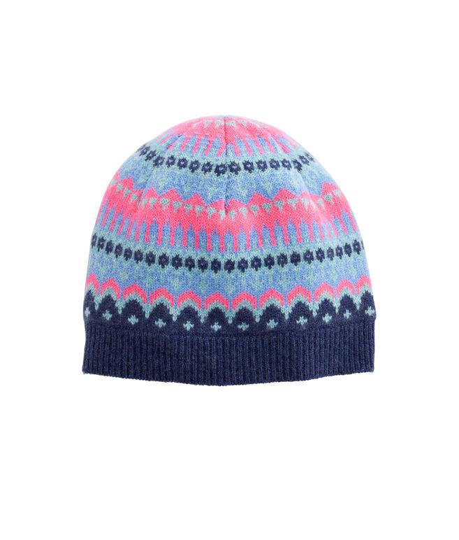 Pop Fairisle Pom Hat