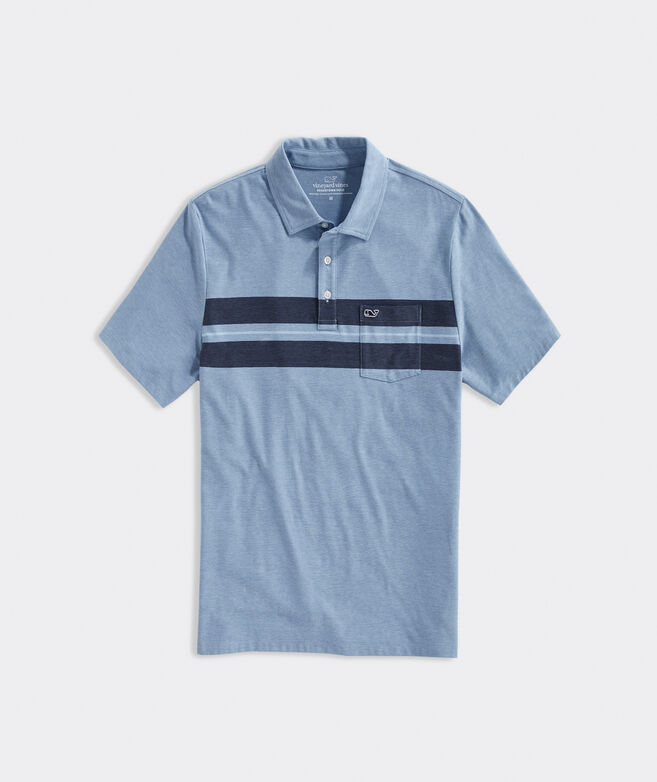 Sapona Stripe Edgartown Polo