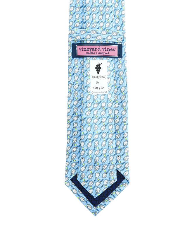 Tennis Racquets Printed Tie