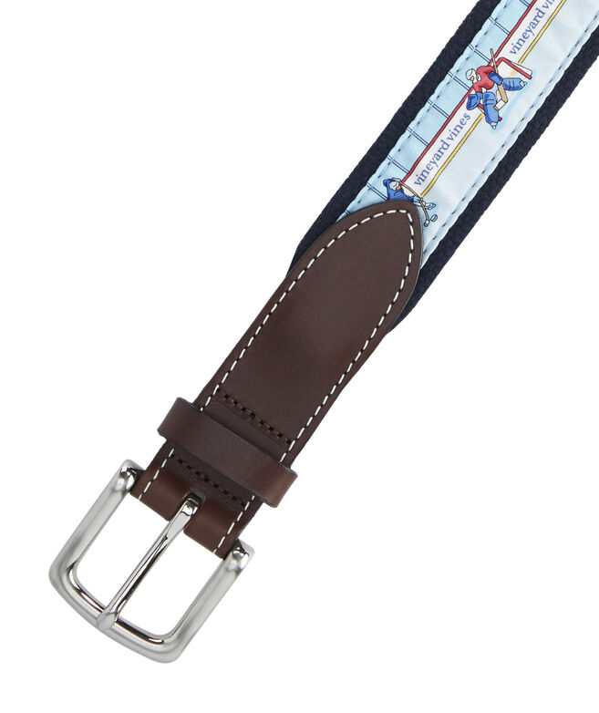Hockey Rink Canvas Club Belt
