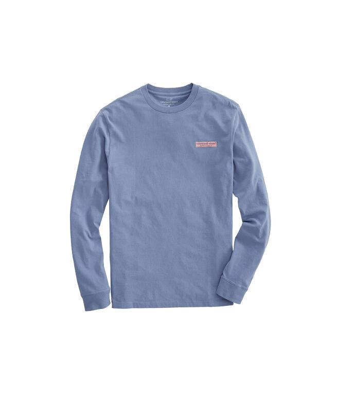 Long-Sleeve Vineyard Logo Box T-Shirt