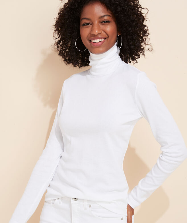 Simple Solid Turtleneck