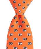 Boys Philadelphia Flyers Logo Tie