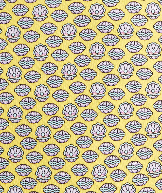 Clam Shell Printed Tie