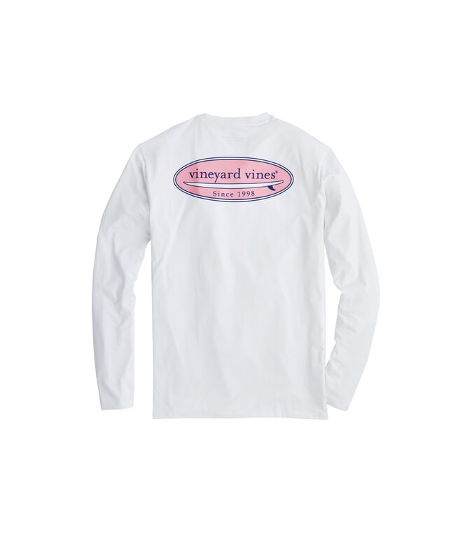 Long-Sleeve Performance Surf Logo T-Shirt