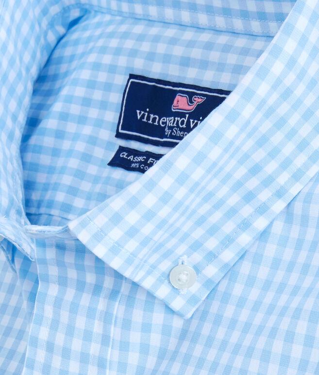 Arawak Gingham Classic Tucker Shirt