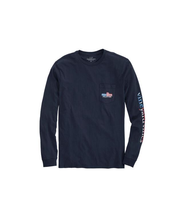 Americana Truck Long-Sleeve Pocket T-Shirt