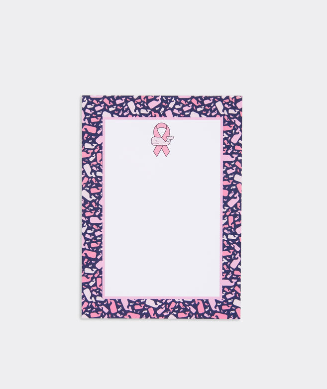 Limited-Edition Breast Cancer Awareness Notepad