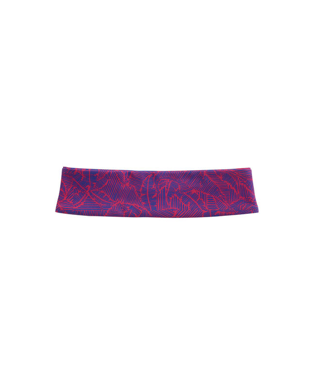 Womens Linear Tropic Performance Headband