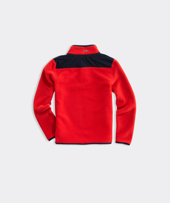 Boys' Harbor Fleece Snap Placket Popover