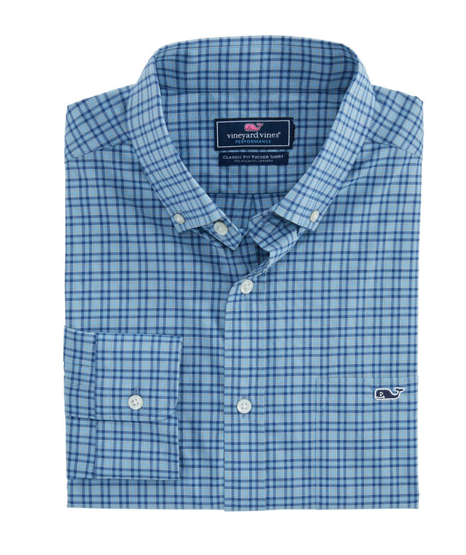 Classic Plaid On-The-Go Performance Tucker Shirt