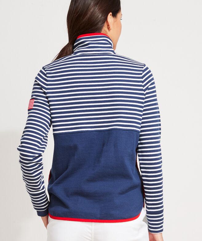 Americana Snap-Placket Shep Shirt