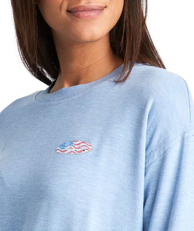 Surf Flag Crewneck Sweatshirt