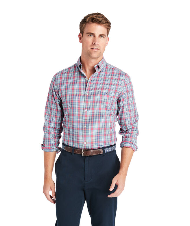 Classic Fit Litchfield Cotton Performance Tucker Shirt